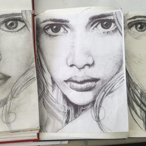portrety-nauka-rysunku-w-akademia-rysunku