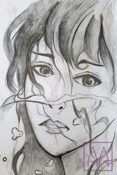 dziewczyna-olowek-narysowana-w-akademia-rysunku-poznan