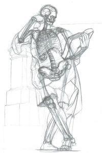 rysunek-szkieletu-model-postaci-rysunek-dla-doroslych-w-akademia-rysunku