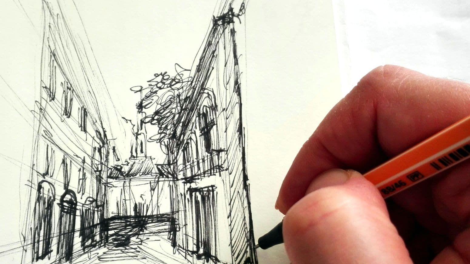 Urban Sketching – dla dzieci i młodzieży od 12 lat