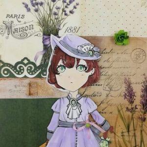 manga-dziewczyna-w-kapeluszu-markery-alkoholowe-akademia-rysunku