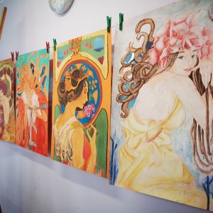 secesja-rysunki-pastelami-w-akademia-rysunku