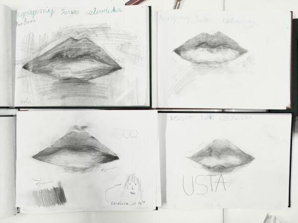 rysunek-usta-warsztaty-rysunku