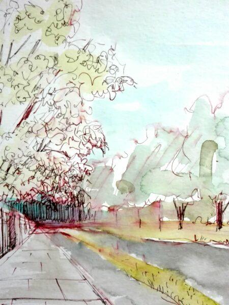 Agata-Oryszyn-zajecia-online-z-urban-sketching-Akademia-Rysunku