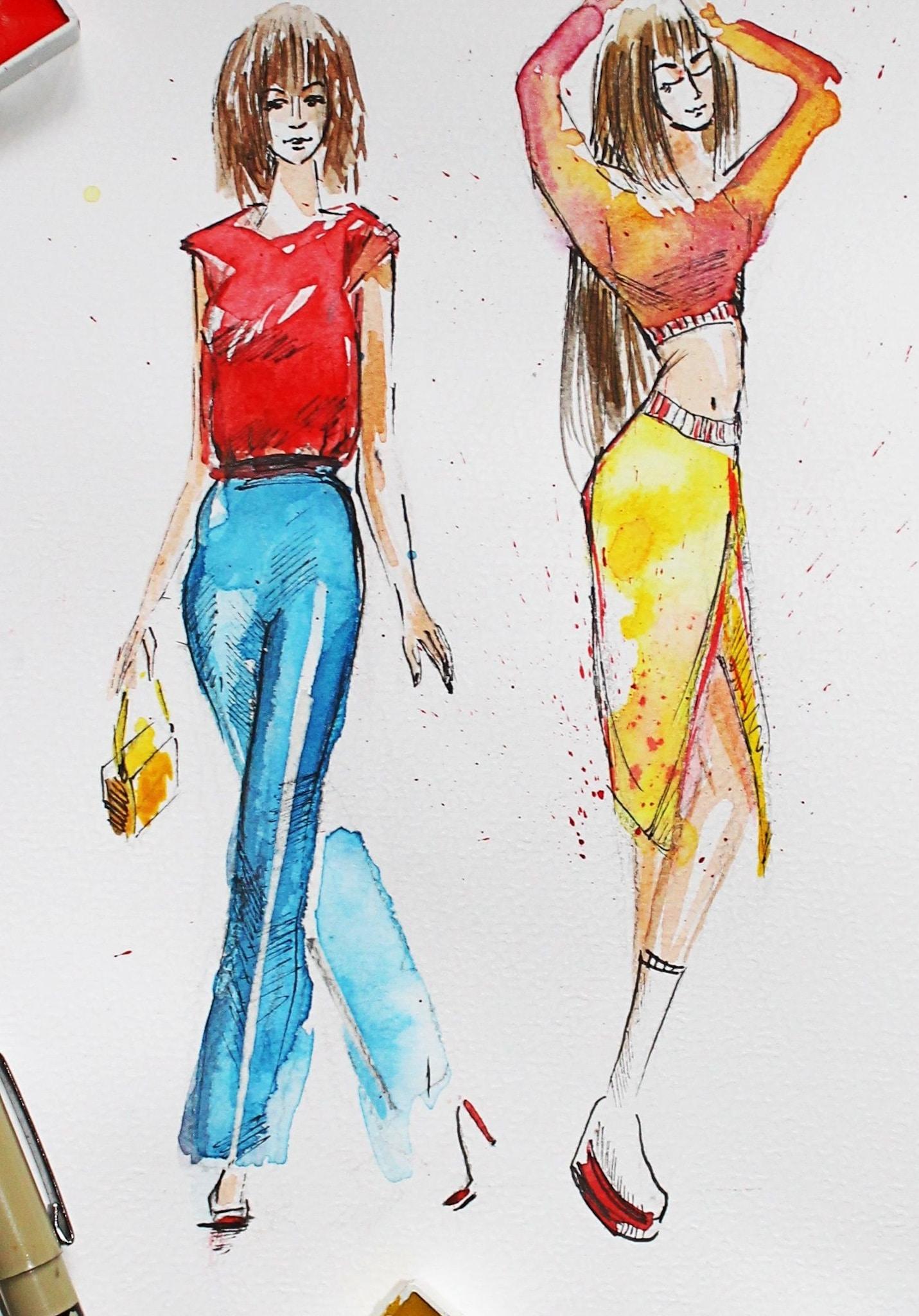 rysunek-modow-marta-kwiatkowska-plener-online-ferie-dla-dzieci