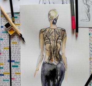 jak-narysowac-koronke-rysunek-modowy-akademia-rysunku