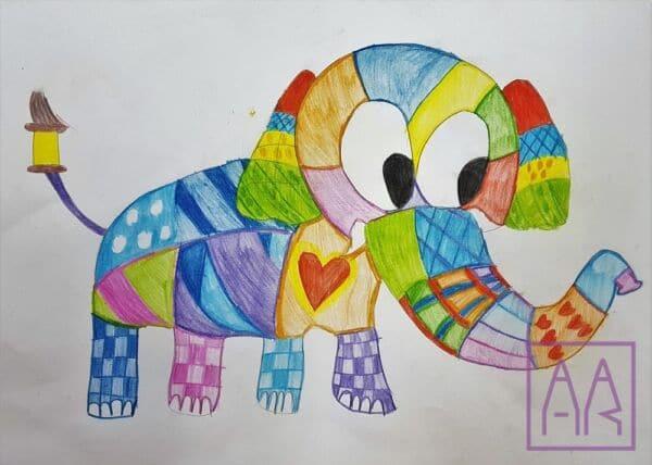rysunek-slonia-na-lekcji-rysunku